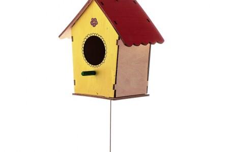 ערכת DIY לבניית קן לציפור